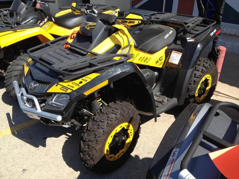 2011 Can-Am outlander 800R X xc, motorcycle listing