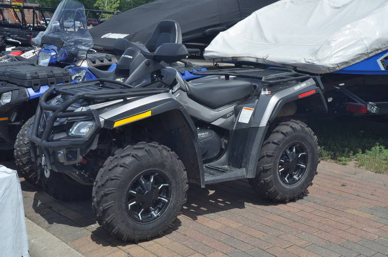 2012 Brp OUTLANDER XT 650, motorcycle listing