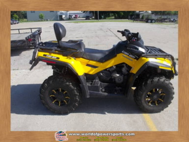 2012 Can Am 800 OUTLAN, motorcycle listing
