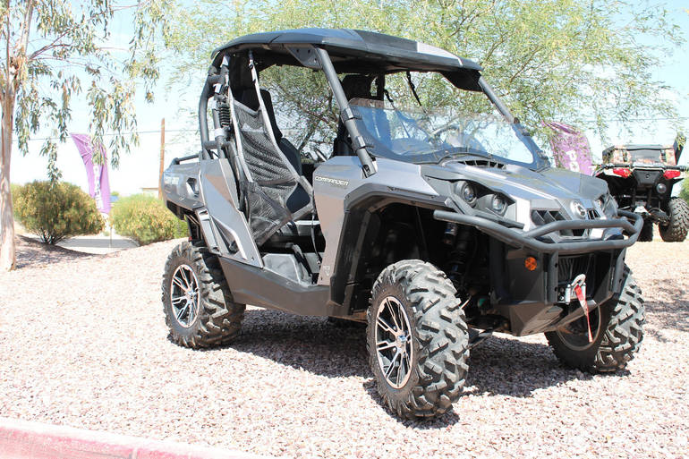 2012 Can-Am COMMANDER 1000 LIMITED, motorcycle listing