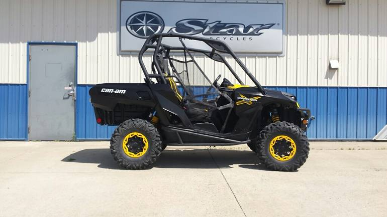 2012 Can-Am COMMANDER 1000 X, motorcycle listing
