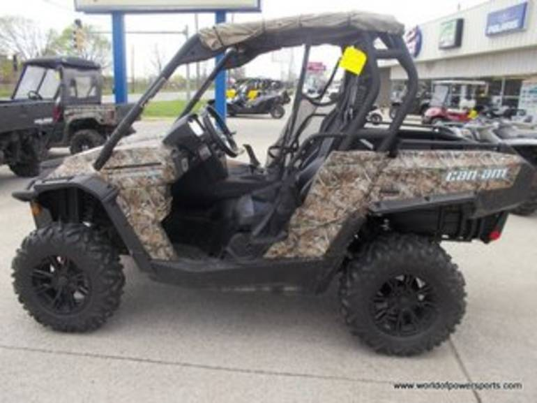 2012 Can Am COMMANDER, motorcycle listing