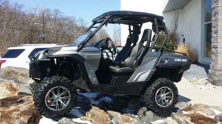 2012 Can-Am Commander LTD 1000, motorcycle listing