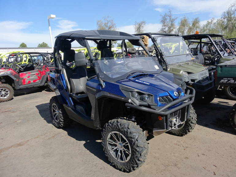2012 Can-Am Commander Limited 1000, motorcycle listing