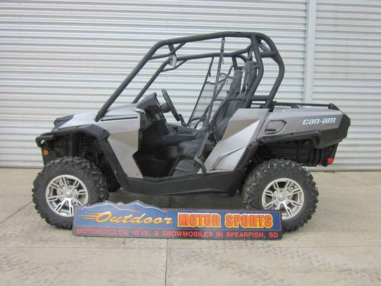 2012 Can-Am Commander XT 800, motorcycle listing