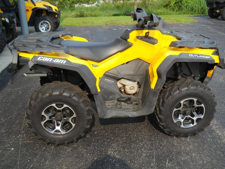 2012 Can-Am OUTLANDER 1000 XT, motorcycle listing