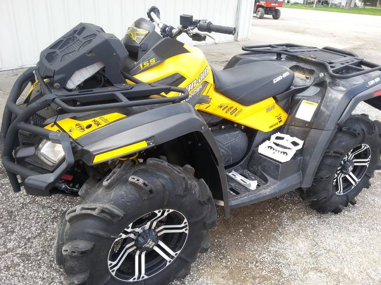 2012 Can-Am OUTLANDER 800 XMR, motorcycle listing