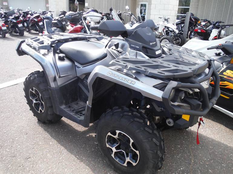 2012 Can-Am OUTLANDER 800R XT, motorcycle listing