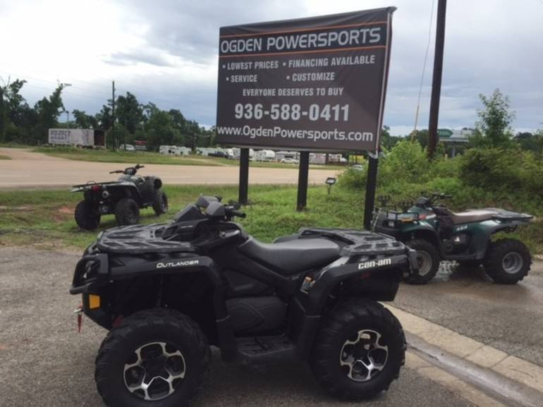 2012 Can-Am OUTLANDER XT 800, motorcycle listing