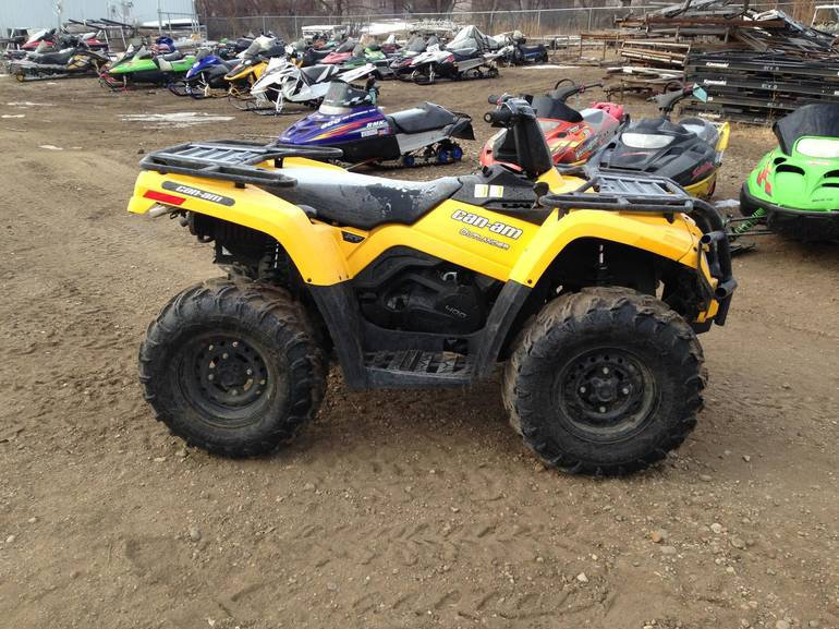 2012 Can-Am Outlander 400 XT, motorcycle listing