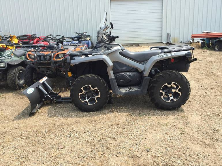2012 Can-Am Outlander 800R EFI XT w/EPS - Winch, motorcycle listing