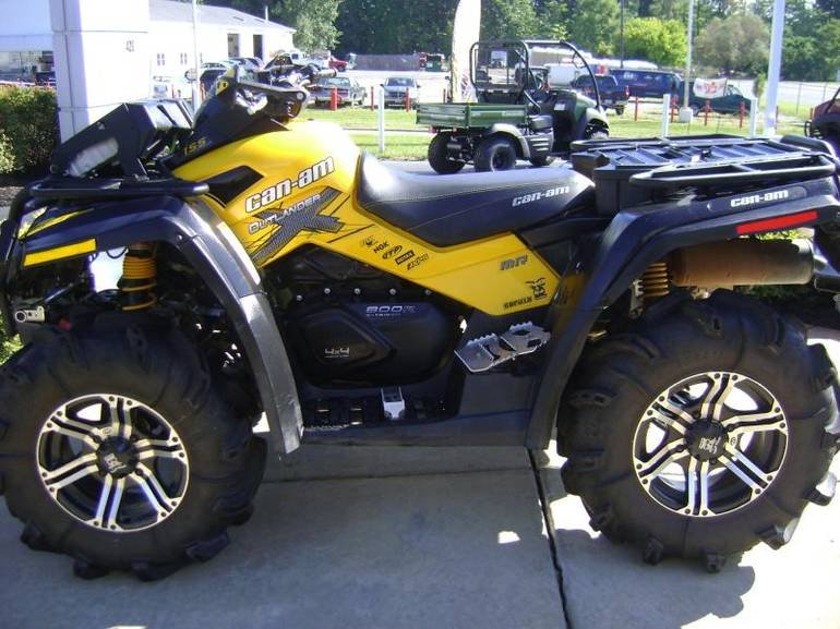 2012 Can-Am Outlander 800R X MR, motorcycle listing