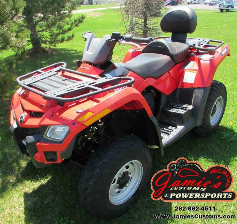 2012 Can-Am Outlander MAX 400 EFI, motorcycle listing