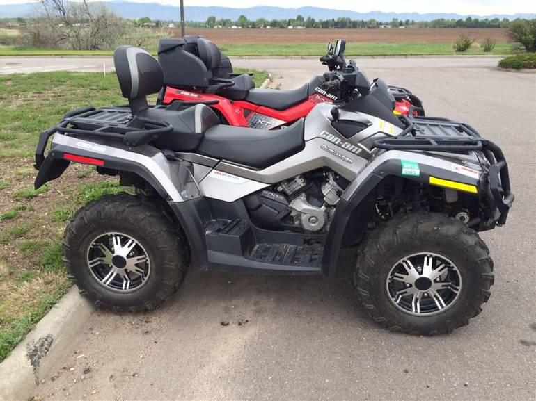 2012 Can-Am Outlander MAX 800R EFI LTD, motorcycle listing