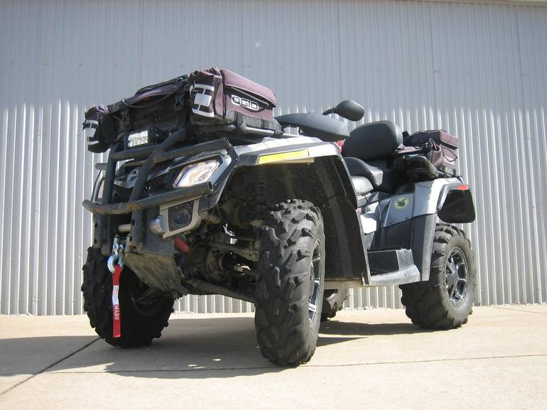 2012 Can-Am Outlander MAX 800R XT, motorcycle listing