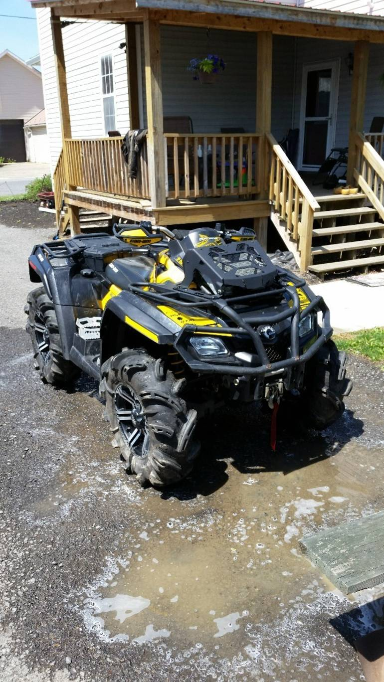 2012 Can-Am Outlander X Mr 800R EFI, motorcycle listing