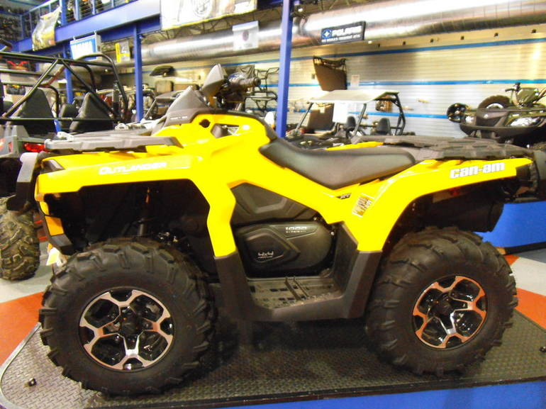 2012 Can-Am Outlander XT 1000, motorcycle listing