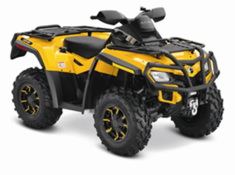 2012 Can-Am Outlander XT 650, motorcycle listing