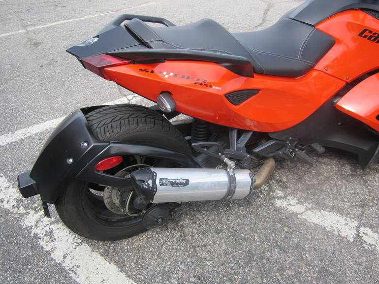 2012 Can-Am RS-S SE5, motorcycle listing