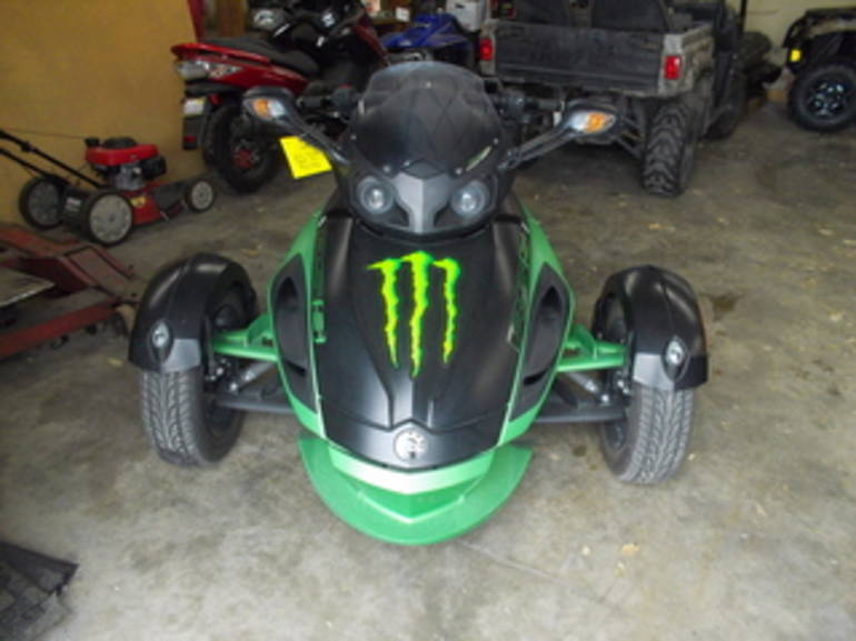 2012 Can Am RS SE5, motorcycle listing