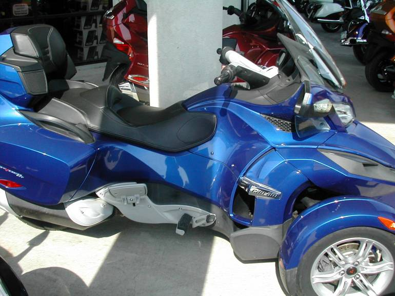 2012 Can-Am RT SM5, motorcycle listing