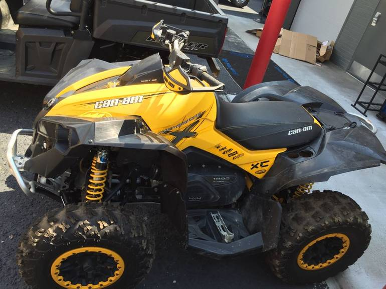 2012 Can-Am Renegade  1000 EFI X xc, motorcycle listing