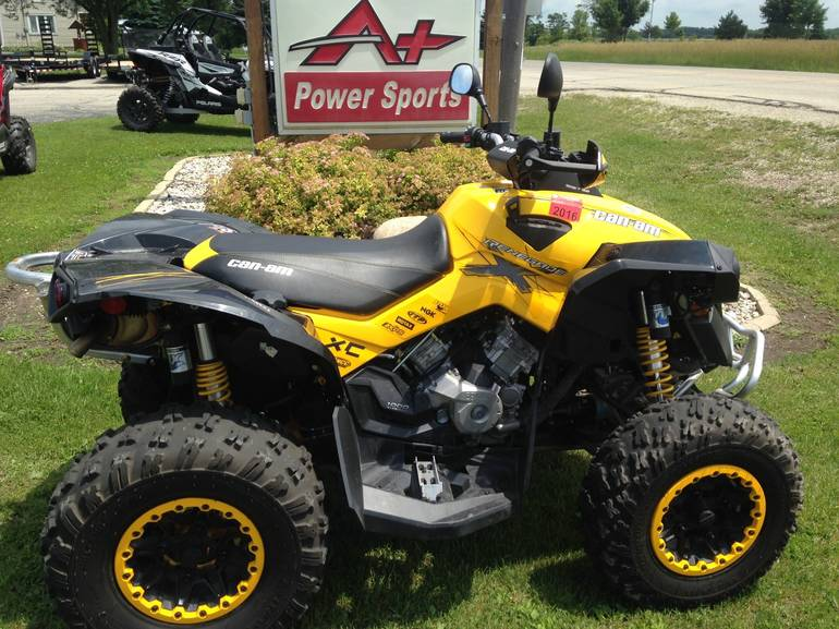 2012 Can-Am Renegade  1000 X xc, motorcycle listing
