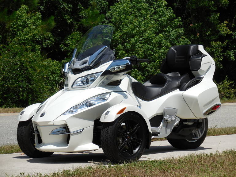 2012 Can Am SPYDER LIMITED, motorcycle listing