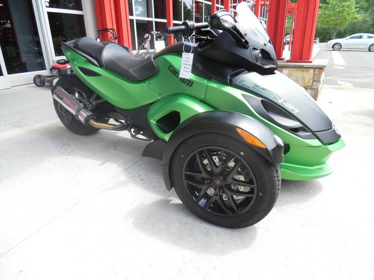 2012 Can-Am SPYDER RS-S SM5 EXHAUST Manual Shif, motorcycle listing