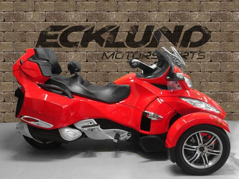 2012 Can-Am SPYDER RT-S SE5, motorcycle listing