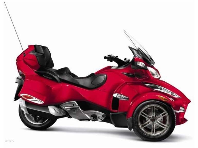 2012 Can-Am Spyder® RT-S SE5, motorcycle listing