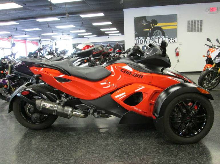 2012 Can-Am Spyder RS-S SE5, motorcycle listing