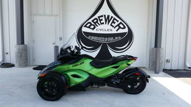 2012 Can-Am Spyder RS-S SM5, motorcycle listing