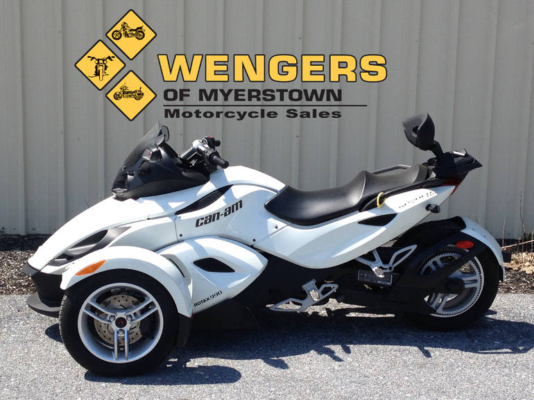 2012 Can Am Spyder RS SE5, motorcycle listing