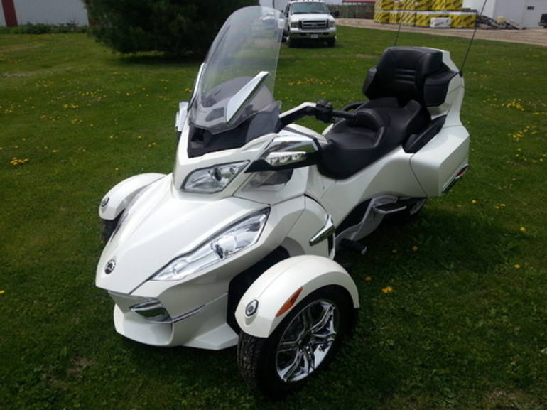2012 Can-Am Spyder RT-LTD, motorcycle listing