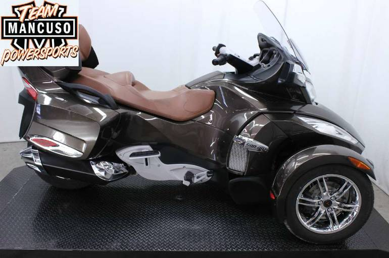 2012 Can-Am Spyder RT Limited Touring Motorcycle From La