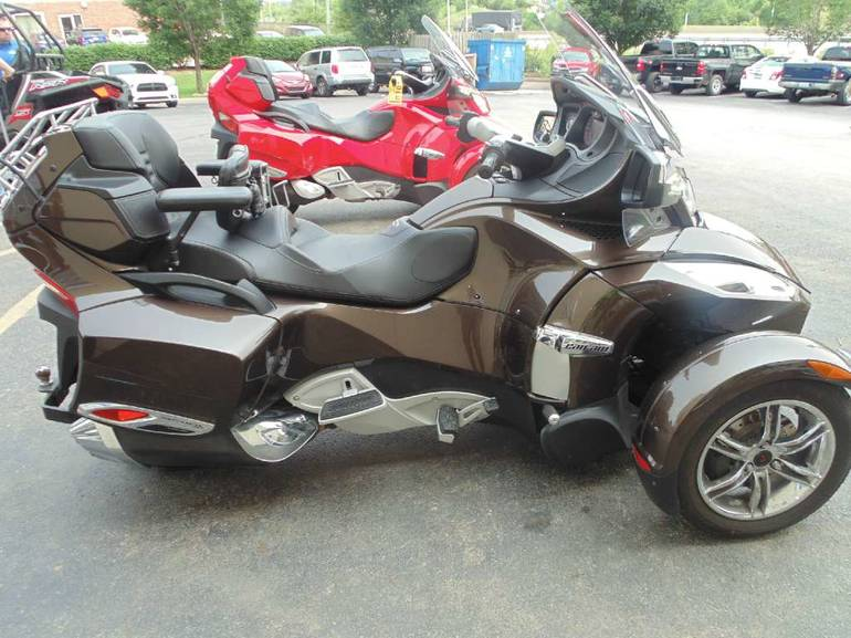 Can Am Spyder For Sale Lexington Ky >> 2012 Can-Am Spyder RT Limited Touring Motorcycle From ...