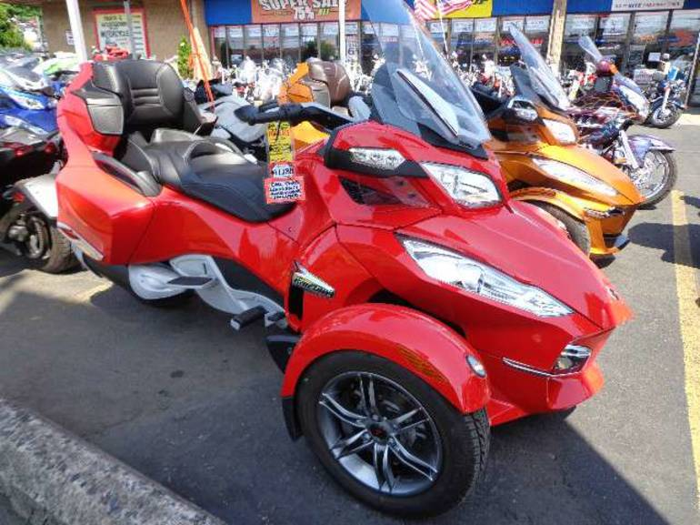 2012 Can-Am Spyder RT-S SM5, motorcycle listing