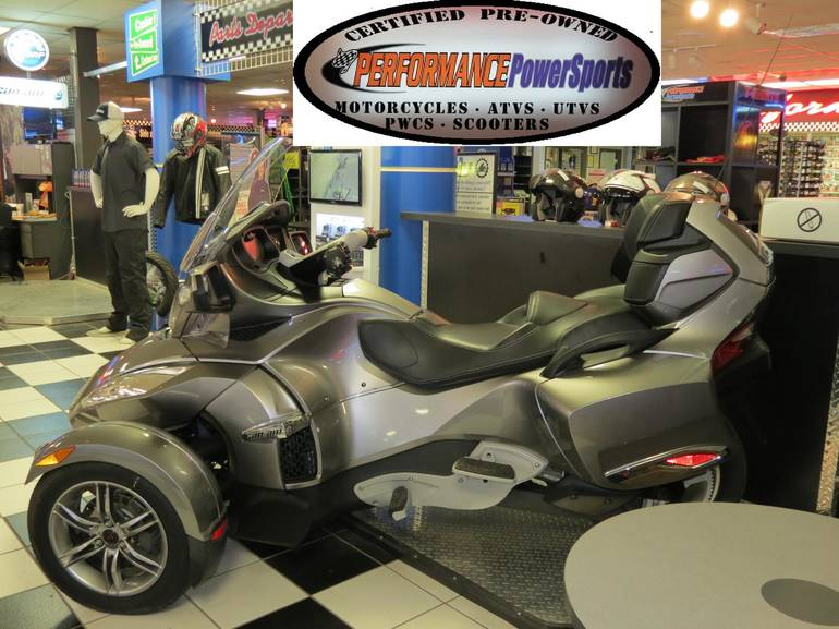 2012 Can-Am Spyder RT S, motorcycle listing
