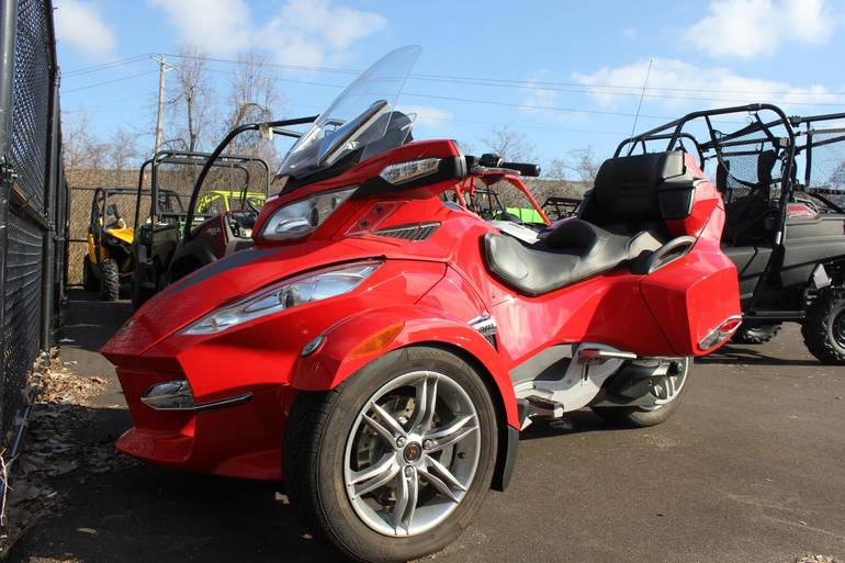 2012 Can-Am Spyder RT SM 5, Ref#000146, motorcycle listing