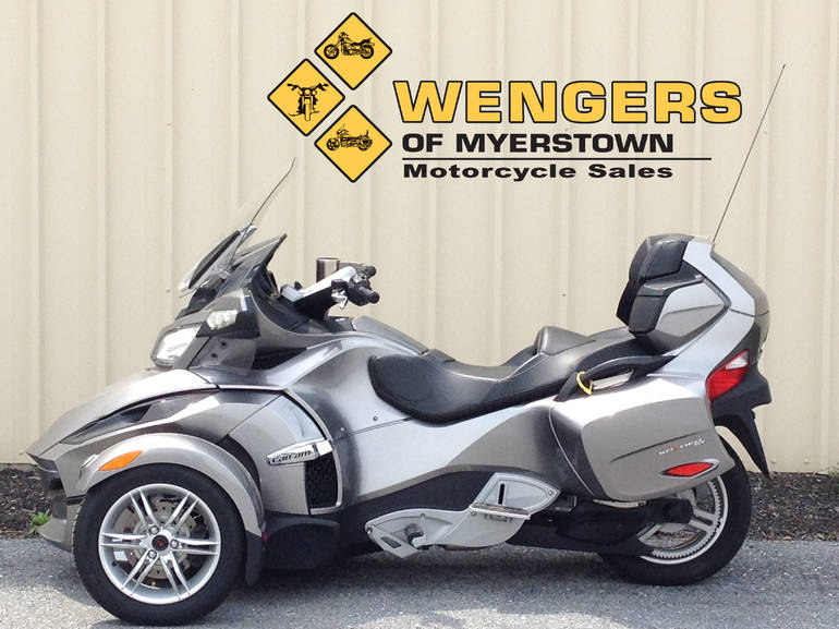 2012 Can Am Spyder RT SM5, motorcycle listing