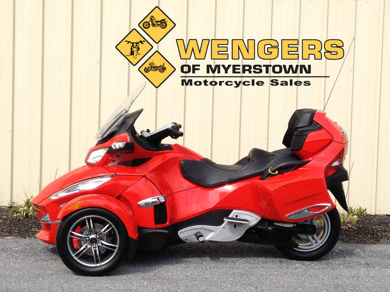 2012 Can Am Spyder RTS SE5, motorcycle listing