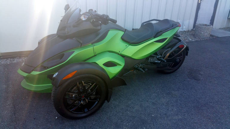 2012 Can-Am Spyder Roadster RS-S, motorcycle listing