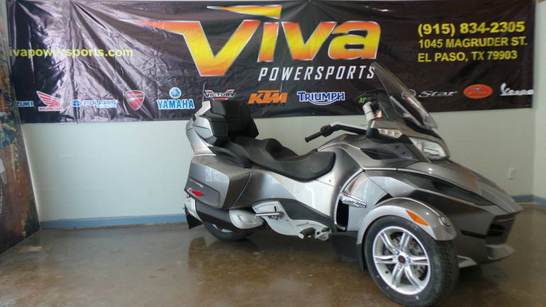 2012 Can-Am Spyder Roadster RT-S, motorcycle listing