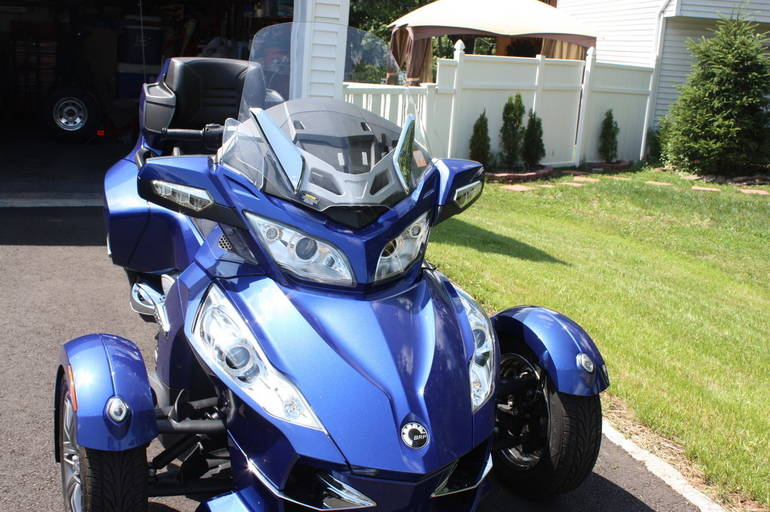 2012 Can-Am Spyder , motorcycle listing