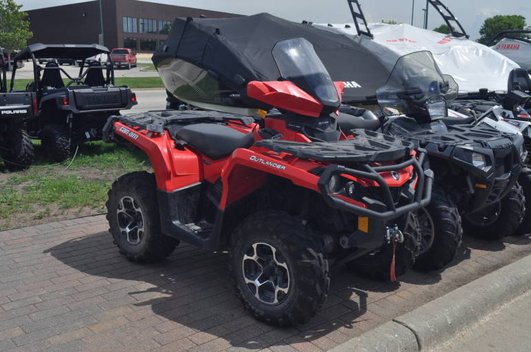 See more photos for this Brp OUTLANDER XT 800, 2013 motorcycle listing