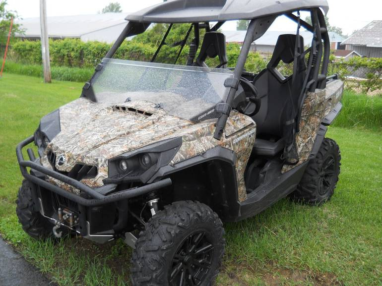 2013 Can-Am CAN-AM COMMANDER XT, motorcycle listing