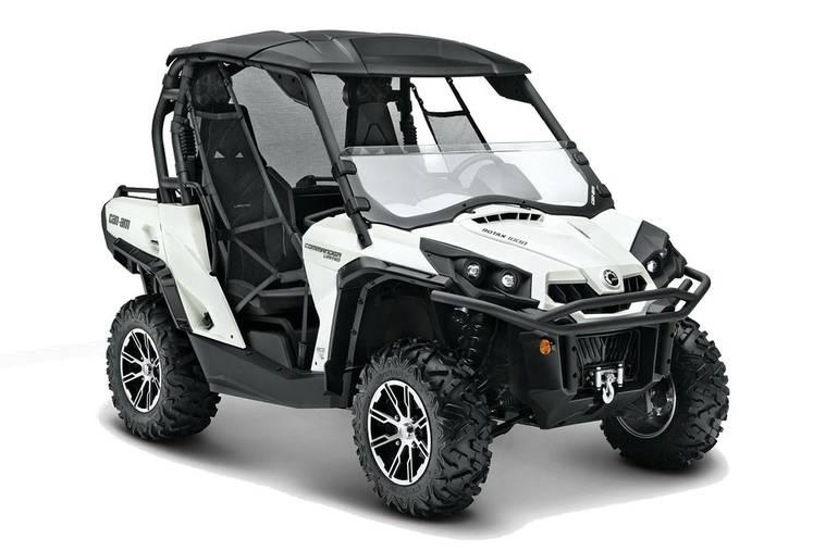 2013 Can-Am Commander 1000 Limited, motorcycle listing