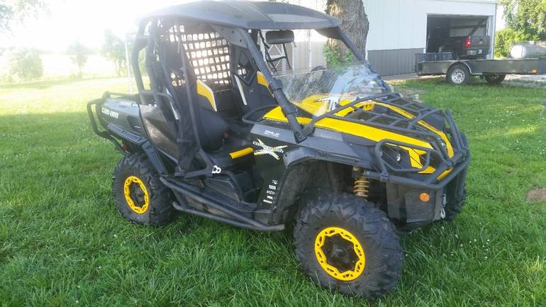 2013 Can-Am Commander 1000 X, motorcycle listing