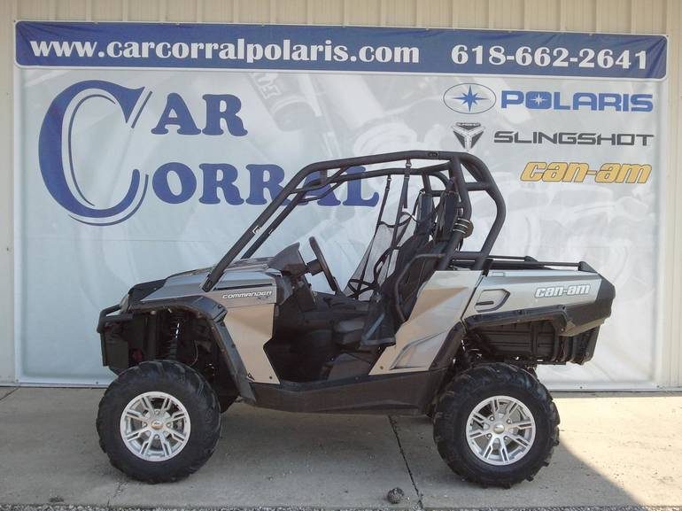 2013 Can-Am Commander 1000XT, motorcycle listing